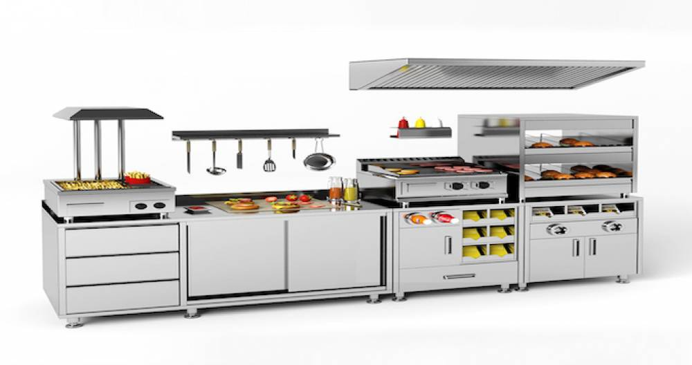 Kiosk, fast food og convenience – innredning og utstyr